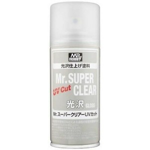 [B522] Mr. SUPER CLEAR UV Cut (170ml,유광)