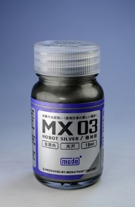 [MX-03] Robot Silver (18ml,메탈릭)